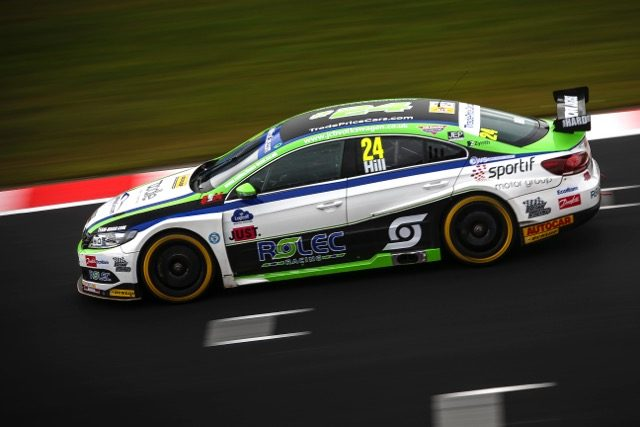 BTCC 2018 is go for Trade Price Cars Brisky Racing at Donington Media Launch