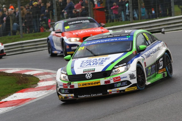 HILL AIMING HIGH AFTER BRANDS HATCH SILVERWARE